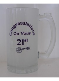 Glass Beer Mug - Sublimation
