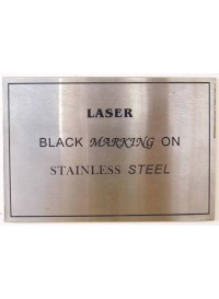 Black Marked Stainless Steel